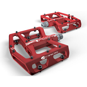 ACROS A-Flat XL Pedals red